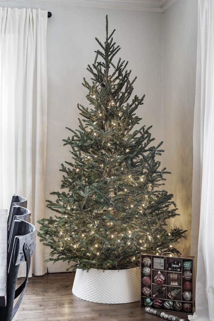 Traditional Nostalgic Christmas Tree
