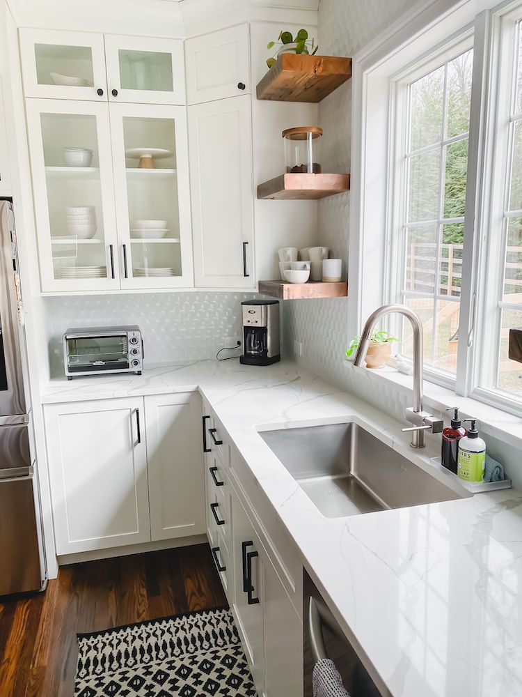 Kitchen Renovation with Drawer Microwave