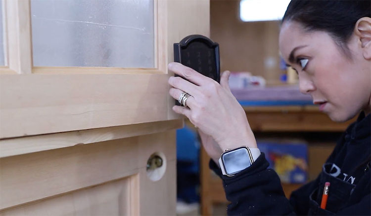 DIY Dutch Door Tutorial with Schlage Smart Lock