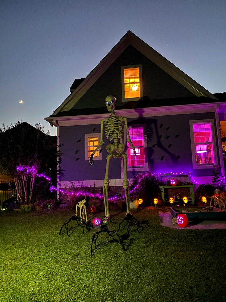 Celebrating Halloween with Zombies and Skeltons Style