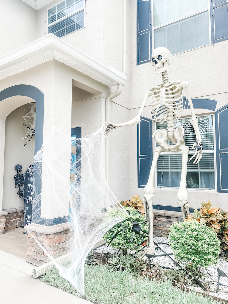 Creating a Spooky Cemetery Front Porch for Halloween